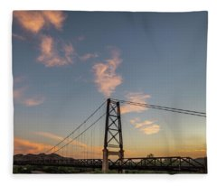YB1 Fleece Blanket