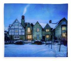 Ye Olde Manor Fleece Blanket