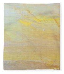 Yellow #2 Fleece Blanket