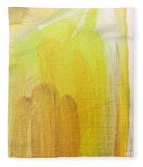 Yellow #3 Fleece Blanket