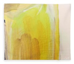 Yellow #3 Fleece Blanket