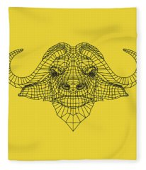 Yellow Buffalo Fleece Blanket