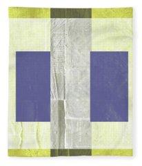 Yellow Mist 1 Fleece Blanket