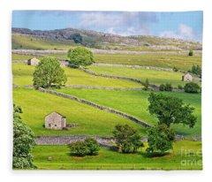 Yorkshire Dales Fleece Blanket