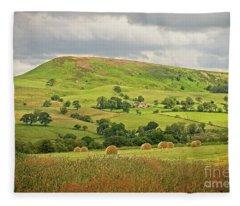 Yorkshire Landscape Fleece Blanket