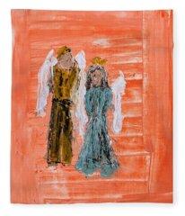 Young Love Angels Fleece Blanket