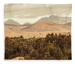 Zeehan And Beyond Fleece Blanket