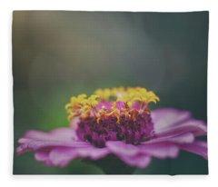 Zinnia Fleece Blanket