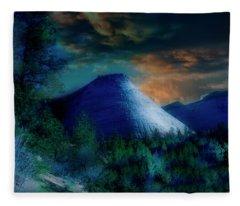 Zion The Great White Throne Fleece Blanket