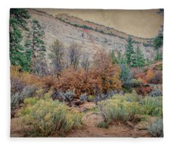 Zions Garden Fleece Blanket