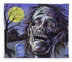 Zombie Fleece Blanket