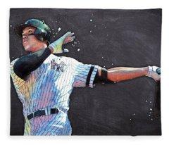 Aaron Judge Fleece Blankets