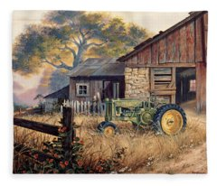 Deere Fleece Blankets