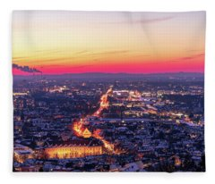 Transportation Fleece Blankets