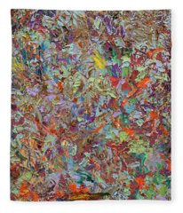 Abstract Expressionism Fleece Blankets