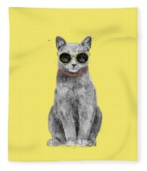 Cool Kittens Fleece Blankets