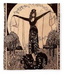 Wicca Fleece Blankets