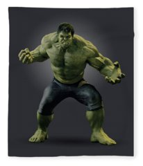 The Incredible Hulk Fleece Blankets