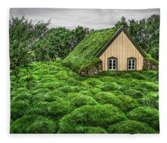 Cemetery Fleece Blankets