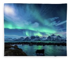 Lights Fleece Blankets