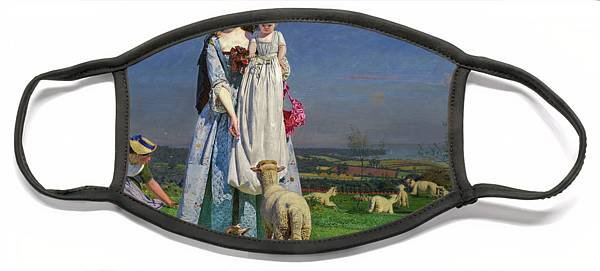 Ford Madox Brown Face Masks Pixels