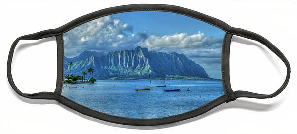 Kaneohe Bay Face Masks Fine Art America