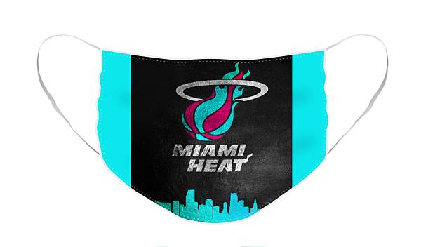 Miami Heat Face Masks Fine Art America