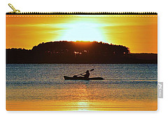 A Reason To Kayak - Summer Sunset Carry-all Pouch