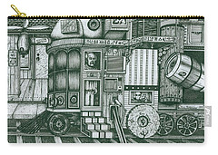 A Traveling Cabinets Of Curiosities Carry-all Pouch