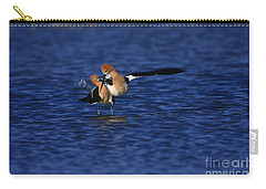 Carry-all Pouch featuring the photograph Courtship Cross by John F Tsumas