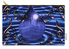 Angelic Sounds On The Waves Carry-all Pouch