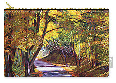 Autumn Road Carry-all Pouch