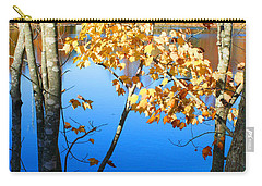 Autumn Trees On The Lake Carry-all Pouch