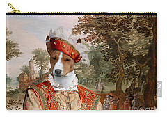 Basenji Art Canvas Print Carry-all Pouch