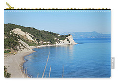 Carry-all Pouch featuring the photograph  Beach by George Katechis