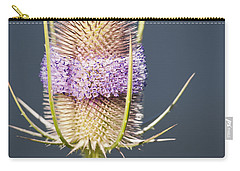 Beautiful Flowering Teasel Carry-all Pouch