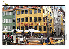 Boat In Nyhavn Carry-all Pouch