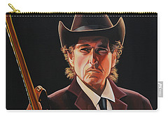 Bob Dylan 2 Carry-all Pouch by Paul Meijering