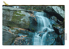 Carry-all Pouch featuring the photograph  Bottom Of Laurel Falls by Patrick Shupert