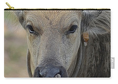 Carry-all Pouch featuring the photograph  Buffalo by Michelle Meenawong