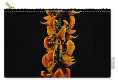Carry-all Pouch featuring the photograph  Bunch Of Flowers by Michelle Meenawong