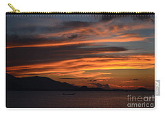 Burning Sky Carry-all Pouch by Michelle Meenawong