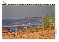 Cape May Beach Carry-all Pouch by Nick Zelinsky