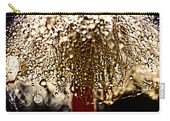 Dandelion Dew In Bronze Carry-all Pouch