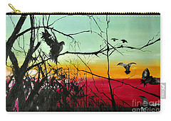 Doves At The Dawn Carry-all Pouch