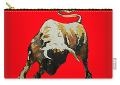 T  .  O  .  R  .  O  .  In Red Carry-all Pouch