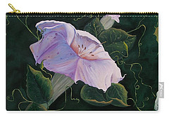 First  Trumpet Flower  Of Summer Carry-all Pouch