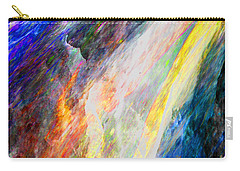 First Rainbow Carry-all Pouch by Stephanie Grant