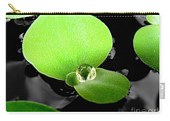 Carry-all Pouch featuring the photograph  Floating by Michelle Meenawong