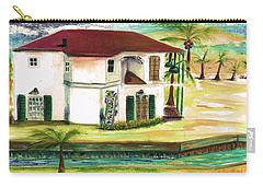 Fort Lauderdale Waterway Carry-all Pouch by Bernadette Krupa